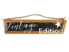 """Décoration murale en bois """" Vintage Edition"""""""