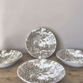 4 ASSIETTES JOHNSON BROTHERS