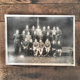 PHOTO DE CLASSE ECOLE DE GARCONS 1932