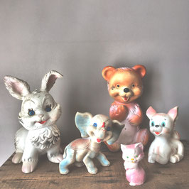 SQUEAKY TOYS ANNEES 60