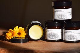 handgerührter Ringelblumenbalsam auf Olivenölbasis