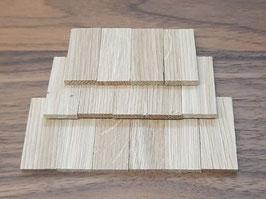ca. 500 Stück Dachschindeln aus Eichenholz
