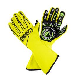 Handschuhe neon gelb - Freem Senso gloves 016