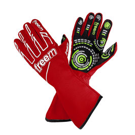 Handschuhe rot - Freem Senso gloves 016