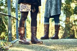 Outdoor Stiefel Leder lang oder kurz