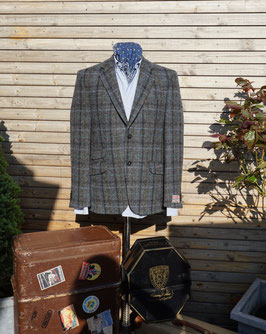 Harris Tweed Jackett -grau kariert-