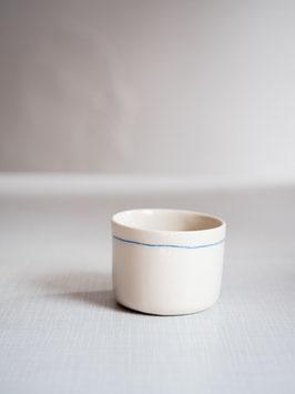 Kleine Kaffeetasse blue strip