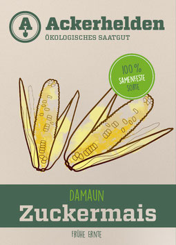 Bio-Saatgut Zuckermais Damaun