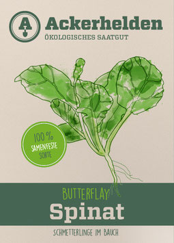 Bio-Saatgut Spinat Butterflay