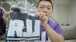 RJJデカロゴプルオーバーパーカー (裏起毛orパイル)