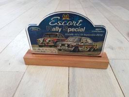 Plaquette souvenir Escort Rally Special 2018