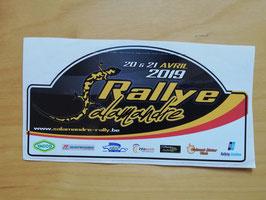 Autocollants Rallye Salamandre 2019