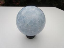 Blauw calciet bol