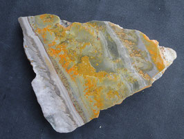 Bumblebee jaspis / Eclipse stone plak