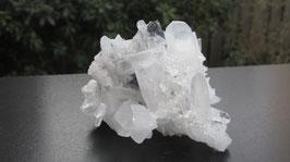 Bergkristal met hübneriet