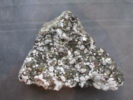 Sfaleriet, (chalco)pyriet, calciet