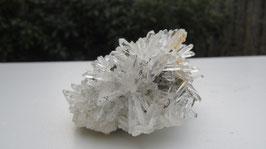 Bergkristal met pyriet
