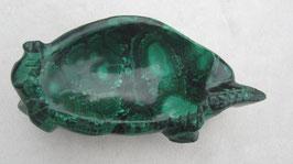 Malachiet schaaltje / schildpad