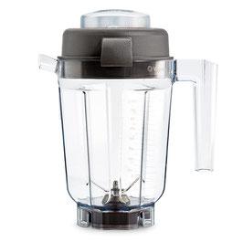 0,9 Liter Vitamix Mixbehälter aus Tritan mit Trockenschneidemesser und Deckel