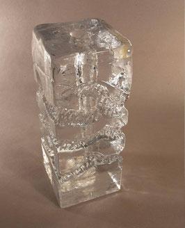 Blockvase Kristallglas Ingrid Glashütte