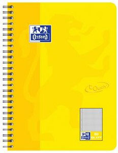 Oxford touch notepad, B5 in Sonnengelb