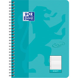 Oxford touch notepad, B5 in Aqua