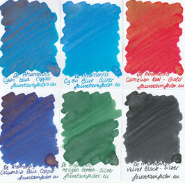 DeAtramentis Pearlescent inks 2ml