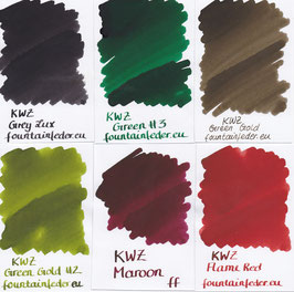 KWZ Ink Samples 2ml