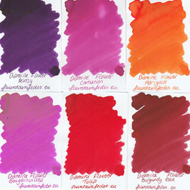 Diamine Flowers Ink Samples 2ml
