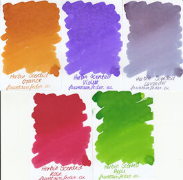 Herbin Scented Ink Samples