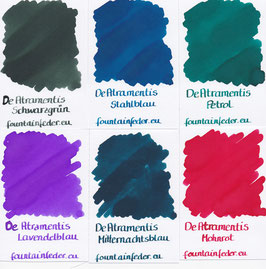 DeAtramentis Ink Samples