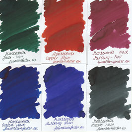 Monteverde Noir Ink Sampels 2ml