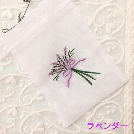 フラワー刺繍オーガンジーバック【期間限定20%OFF!!】