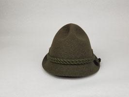 Schinderhannes 135 048 OLIV -rollbarer Wollhut mit Bruchlasche