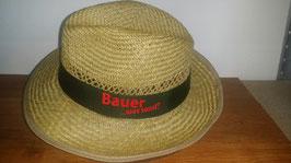 """Strohhut """" Bauer - was sonst"""""""