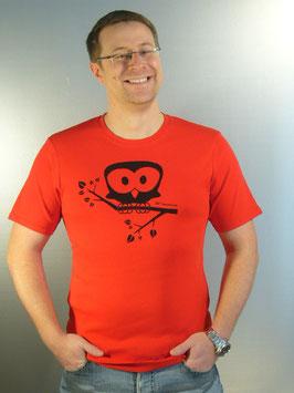 Eule T-Shirt für Männer