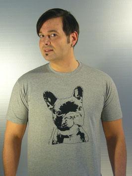 Bulldogge T-Shirt für Männer