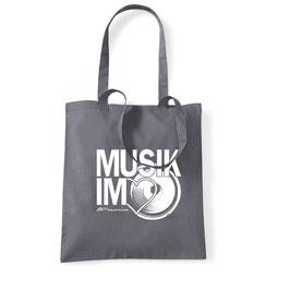 Musikherz Einkaufsbeutel