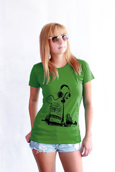 City Music Berlin Fair Wear Organic T-Shirt