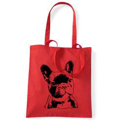 Bulldogge Einkaufsbeutel