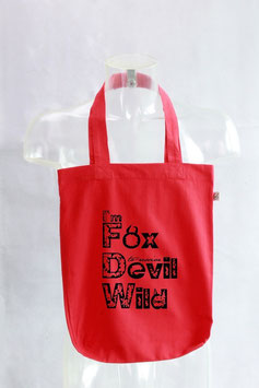 I'm Fox Devil Wild Fair Wear Jutebeutel