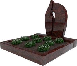 Urnengrabanlage Indora UA-005.001.04.100x100.50x75