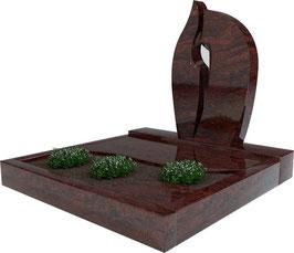 Urnengrabanlage Indora UA-004.001.04.100x100.50x75