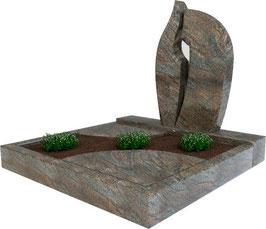 Urnengrabanlage Paradiso UA-003.001.03.100x100.50x75