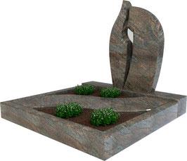 Urnengrabanlage Paradiso UA-001.001.03.100x100.50x75