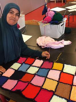 Kleine deken – ca. 50 x 70 cm