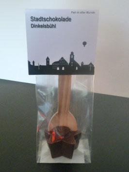Trinkschokolade am Holzlöffel Vollmilch - Dinkelsbühl Skyline