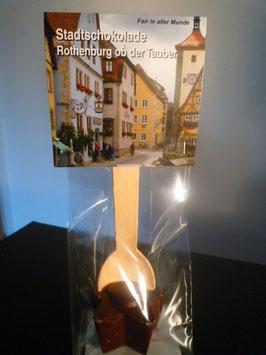 Trinkschokolade am Holzlöffel - Zartbitter - Rothenburg ob der Tauber