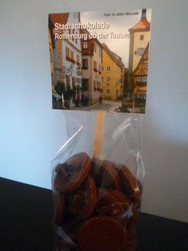 Vollmilch Schokoladentaler mit Bio Rosinen - Rothenburg ob der Tauber