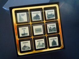 9 er Stadtschokolade Nostalgie Design - Dinkelsbühl